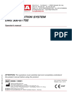ECG ACQUISITION SYSTEM DMS 300-BTT02 Manual De Operaciones