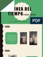 Línea Del Tiempo(1990-2019)