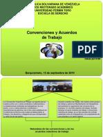Convenciones y Acuerdos de Trabajo