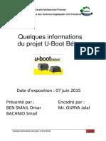 Quelques Informations Du Projet U-Boot Béton
