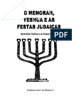O Menorah Yeshua e as Festas Judaicas