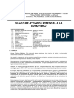 Sílabus 2019 Atención Integral