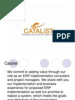 catalist erp consultants