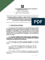 Informe Juridico Objeción de Conciencia Mesa Electoral
