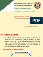 Sesión 2 Localizacón
