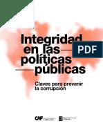 RED 2019 Integridad en Las Politicas Publicas. Claves Para Prevenir La Corrupcion