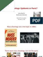 Tracking Mass Shootings