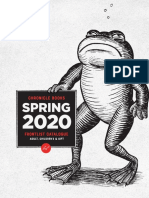 Spring 2020 Chronicle Books UK Frontlist Catalog