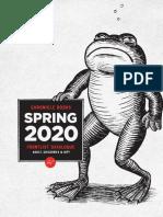 Spring 2020 Chronicle Books UK Frontlist Catalog