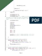Parameters and Loops