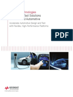 4.Design and Test Solutions for Advanced Automotive