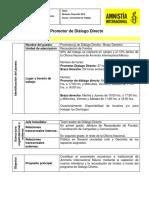 Perfil Promotor DD