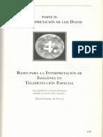 Capítulo 4 del libro Teledetección espacial Chuvieco