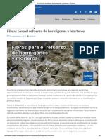 Fibras para el refuerzo de hormigones y morteros – Cymper.pdf