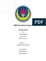CMPE 491 Senior Project I Analysis Report