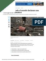 Científicos de Todo El Mundo Declaran Una _emergencia Climática_ - Medio Ambiente - Vida - ELTIEMPO.com