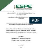 Perfil EIA Torres Carrión