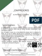 Compresores y su clasificacion