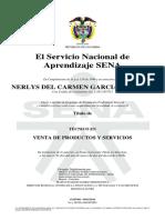 Certificado Sena Nerlys