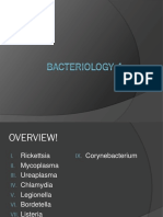 Bacteriology 4