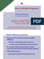 1731020 Fama DB Prize Market Efficiency October 2005