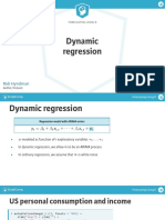DataCamp - ForECASTING USING R - Dynamic Regression