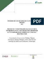 Informe de Especies Nativas de La Region