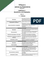 Título 3 - Pasivos No Financieros