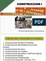 Tipo de Construcciones