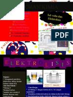 presentasi Kimia. Elektrolisis Dan Sel Volta