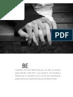 Bci Paper Depression Steps