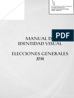 Manual Linea Grafica Elecciones 2014
