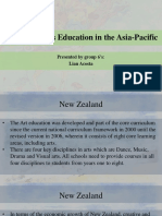 Exploring Arts Education in the Asia-Pacific