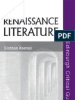 Renaissance Literature (Edinburgh Critical Guides to Literature)