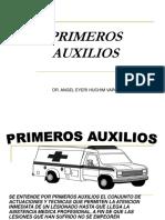 Primeros Auxilios PPT