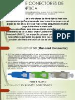 Tipos de Conectores de Fibra Optica