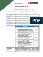 Articulación del perfil de egreso con las competencias del currículo nacional