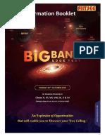 Information Booklet Big Bang