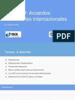 Acuerdos Comerciales Internacionales 2017 Ppt
