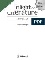 Spotlight on Literature a – Answer Keys
