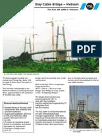 Kien Stay Cable Bridge – Vietnam
