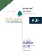 AccuDEXA Model 7100 User Guide