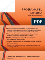 Socializacion_programa Del Diploma