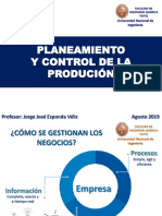 SEM 1 y 2 INTRODUCCION Proceso -Productivo 2019-2