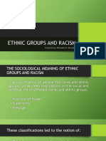 Ethnic Groups And Racism
