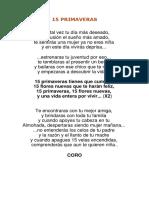 15 Primaveras - Vicente Fernandez