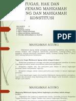 Kelompok 6 Tugas Lembaga Negara MA Dan MK