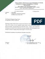 Website Kelengkapan Administrasi Serdos