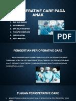 Perioperative Care Pada Anak Kelompok 6