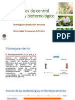 control genetico y biotecnologico